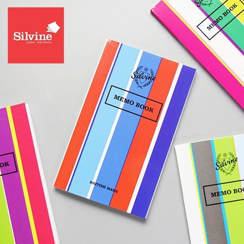 イギリスブランド「SILVINE」のノート。