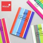 SILVINE シルバイン メモブック / ストライプ 4冊セット