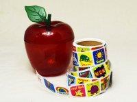 りんごケース付きロールシール