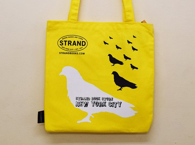 STRAND BOOK STORE トートバッグ Pigeon