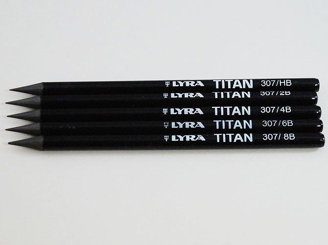 LYRA リラ グラファイト鉛筆 [TITAN] ( lita taitan )