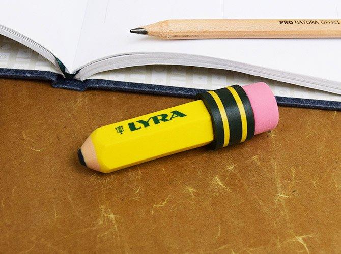 LYRA リラ 鉛筆型ケシゴム TEMAGRAPH