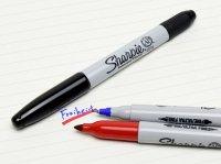 Sharpie Twin Tip シャーピー ツインチップ ( 極細字 /中字 両用 ) 油性 マーカー