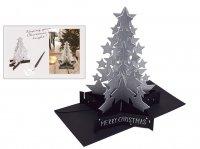 クリスマス スターツリー カード AT-93
