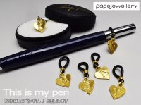 【papejewellery パペジュリー】 ペンリング This is my pen / アルファベット