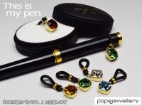 【papejewellery パペジュリー】 ペンリング This is my pen / 誕生石