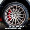 JBTブレーキキャリパー8POT(Z8)+2ピース380mmスリットローター+ブラケット+パッド+ブレーキホース:フロントフルセット:全14色