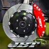 JBTブレーキキャリパー8POT(FM8P)+2ピース355mmスリットローター+ブラケット+パッド+ブレーキホース:フロントフルセット:全5色!