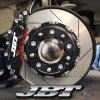JBTブレーキキャリパー8POT(FM8P)+2ピース380mmスリットローター+ブラケット+パッド+ブレーキホース:フロントフルセット:全5色!