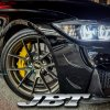 JBTブレーキキャリパー6POT(RS6P)+2ピース356mmスリットローター+ブラケット+パッド+ブレーキホース:フロントフルセット:全8色