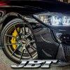 JBTブレーキキャリパー6POT(RS6P)+2ピース400mmスリットローター+ブラケット+パッド+ブレーキホース:フロントフルセット:全8色