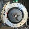 JBTブレーキキャリパー4POT(SP4P)+1ピース330mmコンビローター+ブラケット+パッド+ブレーキホース:フロントフルセット:全12色!