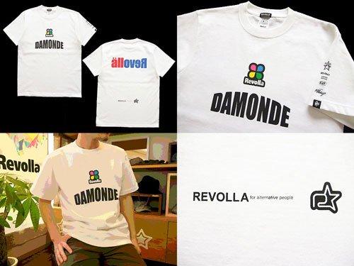 DAMONDE「だもんで」Tシャツ(ホ...