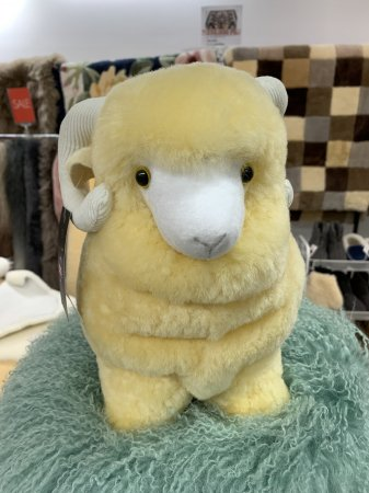 ムートンの羊ぬいぐるみ ムー君