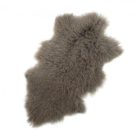 チベットラム フルスキン 1匹物 約95x60cm ブラウン