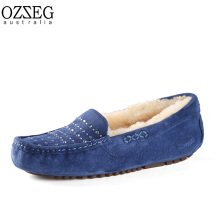 OZZEG Australia モカシン(ダイヤ) ブルー 23.5cm