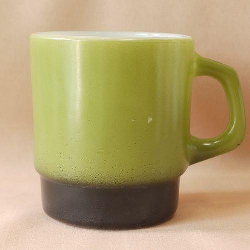 スタッキング緑×黒
