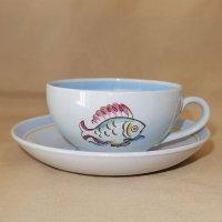 FISH カップ&ソーサー