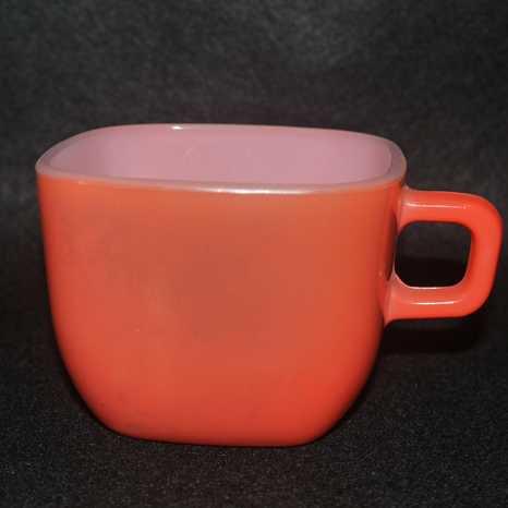 リプトン、スープカップ、赤