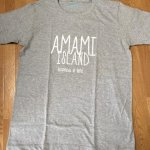 [クロネコDM便対応]TREASUREBOX-MUZIK AMAMI ISLAND HAPPINESS TEE (M.GRAY)