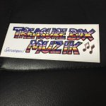 ◆屋外可能◆ SASSA FRASS×TREASUREBOX-MUZIK LOGO ステッカー