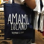 ●メール便OK● TREASUREBOX-MUZIK AMAMI ISLAND HAPPINESS MAGAZINE BAG (2 COLOR)