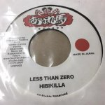 ◆DEADSTOCK◆ LESS THAN ZERO/HIBIKILLA+終わらないファイター/BEAR MAN(暴れ馬RECORDS)