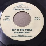◆USED◆ TOP OF THE WORLD-VERSION / DETERMINATIONS(ZION)