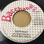 ◆DEADSTOCK◆BUFFALO+ACCAPELLA / RUDEBWOY FACE(BACCHANAL45)