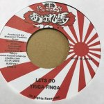 ◆DEADSTOCK◆ LETS GO /VERSION - TRIGA FINGA(暴れ馬RECORD)