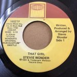 ◆REISSUE◆ THAT GIRL/ALL I DO - STEVIE WONDER(TAMLA)