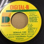 SERIOUS TIME/ADMIRAL TIBET&SHABBA&NINJAMAN (DIGITAL-B)