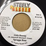 GIRLS HOORAY / SPRAGGA BENZ (STEELY&CLEEVIE)
