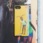 <img class='new_mark_img1' src='https://img.shop-pro.jp/img/new/icons5.gif' style='border:none;display:inline;margin:0px;padding:0px;width:auto;' />CLEAN UP JAMAICA iPhone case / JUNYA S-STEADY