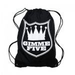 GIMME FIVE / ギミーファイブ CROWN LOGO NYLON GYM SACK