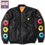 IRIE BY LIFE アイリーバイアイリーライフ RECORD LABEL QUILTING JACKET