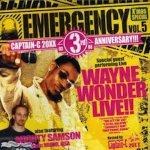 <img class='new_mark_img1' src='https://img.shop-pro.jp/img/new/icons59.gif' style='border:none;display:inline;margin:0px;padding:0px;width:auto;' />[USED] Emergency Volume 5 Captain-C 20XX 3rd Anniversary (Wayne Wonder Live)
