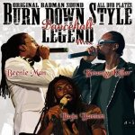 <img class='new_mark_img1' src='https://img.shop-pro.jp/img/new/icons59.gif' style='border:none;display:inline;margin:0px;padding:0px;width:auto;' />[USED] BURN DOWN STYLE ‐DANCEHALL LEGEND MIX‐ / BURN DOWN バーンダウン
