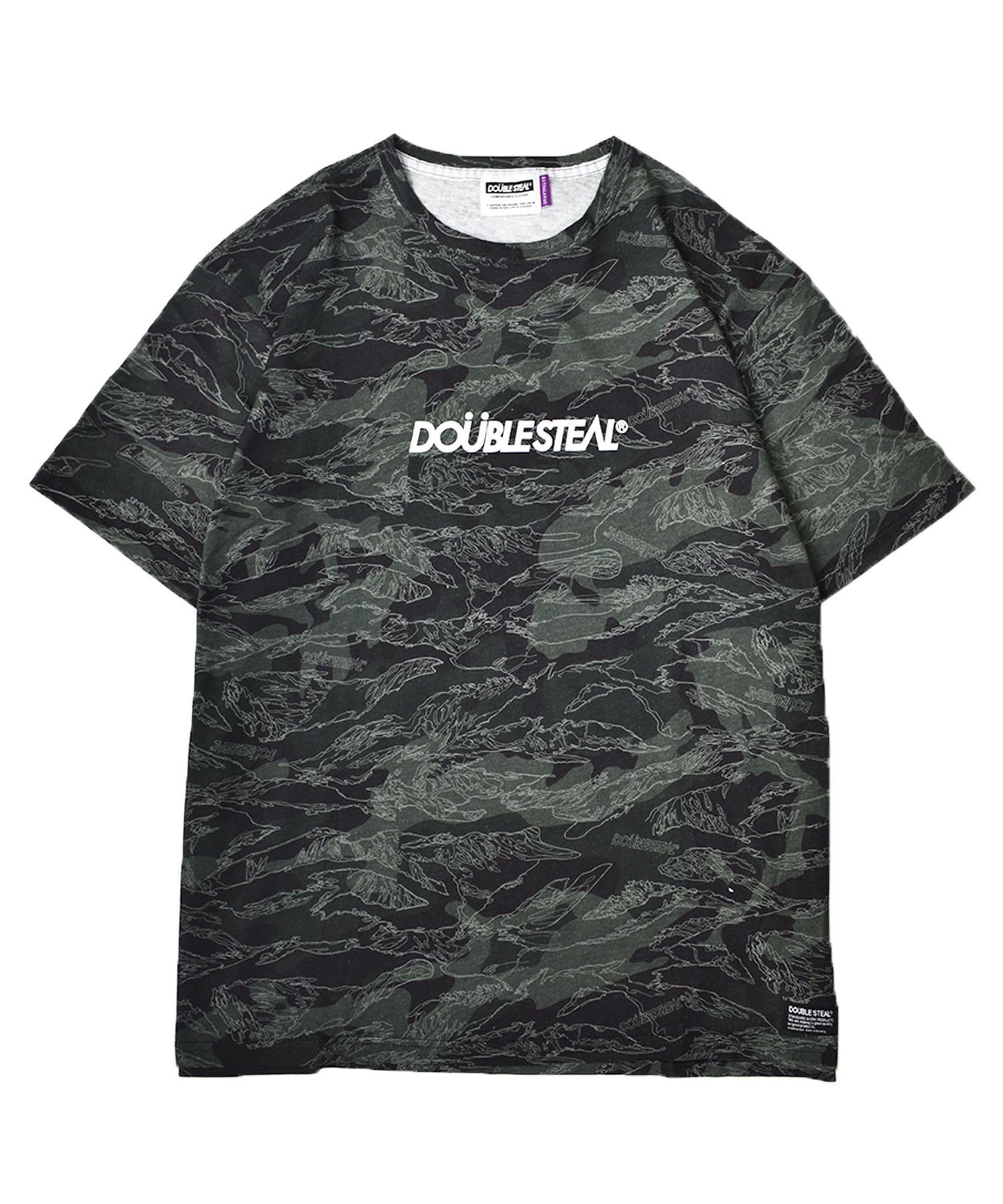 Camo Outline Logo Tシャツ