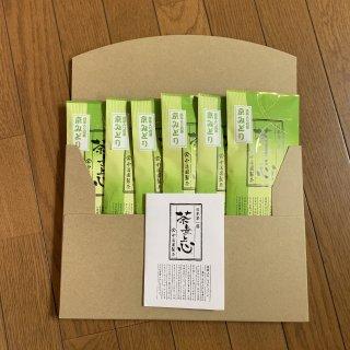 送料無料!抹茶入り煎茶【京みどり】80g(6袋セット)