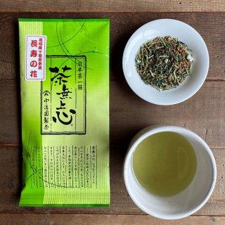 雁ケ音玄米茶「長寿の花」80g