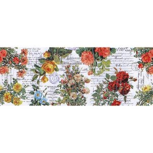 """Idea-Ology Collage Paper 6/""""X6yds-Floral"""