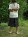 ジョムトム手織りコットンの半端丈タイパン*3色