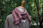 雰囲気満点◎コットンざっくり手織りスカーフ*