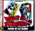 DJ Harry / What Is Scratch ? [MIX CD] - とにかく2枚使い、スクラッチ!