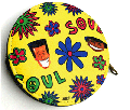 "Stillas ""DAISY"" Graphic Coin Case - DE LA SOULデザイン小銭入れ!!"