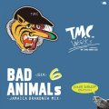 [予約] TURTLE MAN's CLUB / BAD ANIMALS 6 -JAMAICA BRAND NEW MIX- ONE DROP EDITION [MIX CD]