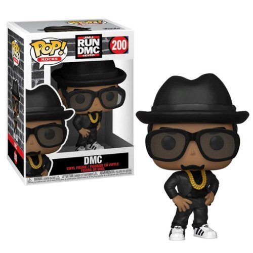 Funko POP! Rocks - RUN DMC (DMC) [フィギュア]