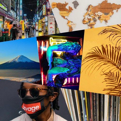 DJ U-SAY / 17Week Mix [MIX CD-R] - 曜日ごとにテーマを決めて7パターンのミックス構成を1つに凝縮!!