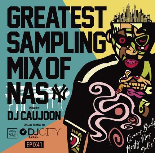 [大推薦★近日入荷]DJ Caujoon / Greatest Sampling Mix Of Nas [MIX CD] - 試聴あり!ラッパーNAS x DJ Caujoon!!